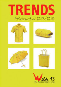 "Neuer Werbeartikel-Katalog ""Trends 2017/2018"""
